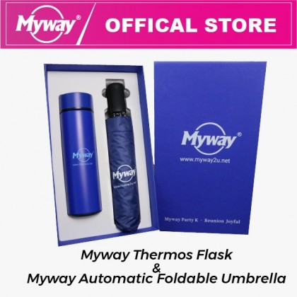 Thermos Flask Stainless Steel with Umbrella UV Automatic